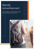 Bi Fold Travel Advertisement Document Report PDF PPT Template