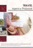 Bi Fold Travel Agency Proposal Document Report PDF PPT Template