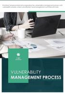 Bi Fold Vulnerability Management Process Document Report PDF PPT Template