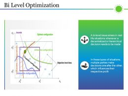 Bi Level Optimization Sample Of Ppt