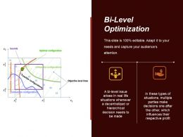 Bi Level Optimization Sample Ppt Files
