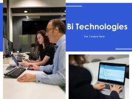 Bi Technologies Powerpoint Presentation Slides