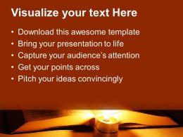 Bible Cross Powerpoint Templates Religion Teamwork Ppt Slides