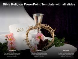 Bible Religion Powerpoint Template With All Slides