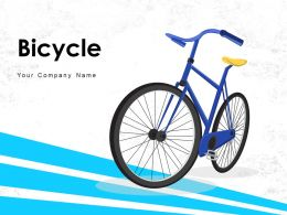 Bicycle Business Team Bulb Icon Commuting Electric Employee Parking Crossing Traveler