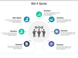 Bid 4 Spots Ppt Powerpoint Presentation File Graphics Example Cpb