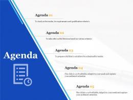 Bid Management Analysis Agenda Ppt Powerpoint Presentation Outline Inspiration