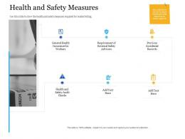 Bid Management Analysis Health And Safety Measures Ppt Powerpoint Presentation Layouts