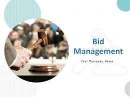 Bid Management Powerpoint Presentation Slides