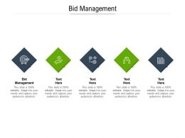 Bid Management Ppt Powerpoint Presentation Professional Clipart Cpb
