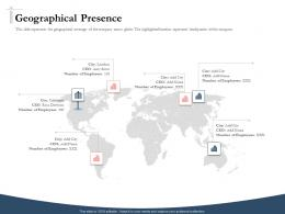 Bidding Comparative Analysis Geographical Presence Ppt Powerpoint Mockup