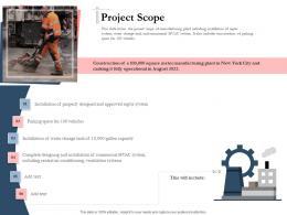 Bidding Comparative Analysis Project Scope Ppt Powerpoint Presentation Portfolio