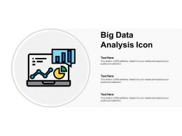 Big Data Analysis Icon