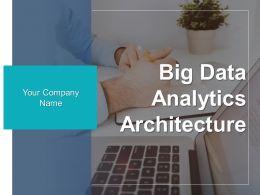 Big Data Analytics Architecture Powerpoint Presentation Slides