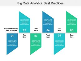 Big Data Analytics Best Practices Ppt Powerpoint Presentation Ideas Structure Cpb
