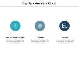 Big Data Analytics Cloud Ppt Powerpoint Presentation Professional Clipart Images Cpb