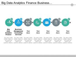 Big Data Analytics Finance Business Management Consulting Services Cpb