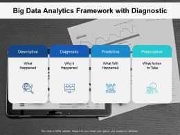 Big Data Analytics Framework With Diagnostic
