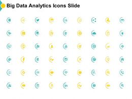 Big Data Analytics Icons Slide Growth Target Goal Ppt Powerpoint Presentation Infographics Icons