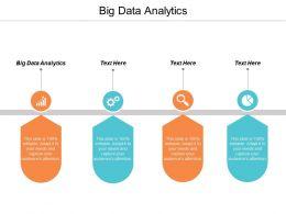 Big Data Analytics Ppt Powerpoint Presentation Gallery Graphics Cpb