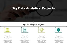 Big Data Analytics Projects Ppt Powerpoint Presentation Model Visuals Cpb