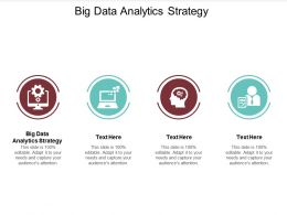 Big Data Analytics Strategy Ppt Powerpoint Presentation Inspiration Introduction Cpb