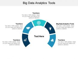 Big Data Analytics Tools Ppt Powerpoint Presentation Slides Ideas Cpb