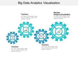 Big Data Analytics Visualization Ppt Powerpoint Presentation Summary Example File Cpb