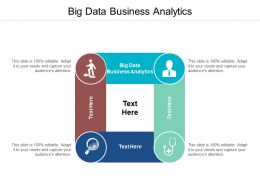 Big Data Business Analytics Ppt Powerpoint Presentation Show Infographics Cpb