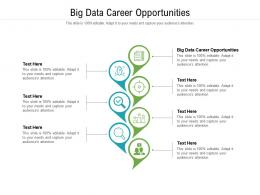 Big Data Career Opportunities Ppt Powerpoint Presentation Summary Clipart Images Cpb