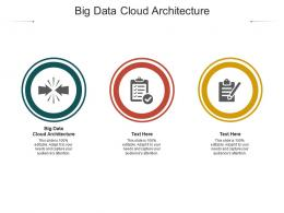 Big Data Cloud Architecture Ppt Powerpoint Presentation Guide Cpb