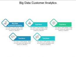 Big Data Customer Analytics Ppt Powerpoint Presentation Icon Influencers Cpb