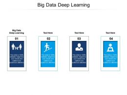 Big Data Deep Learning Ppt Powerpoint Presentation Styles Elements Cpb