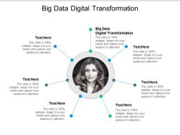 Big Data Digital Transformation Ppt Powerpoint Presentation Model Visuals Cpb