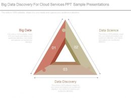 Big Data Discovery For Cloud Services Ppt Sample Presentations