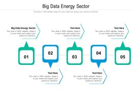 Big Data Energy Sector Ppt Powerpoint Presentation Summary Display Cpb