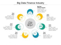 Big Data Finance Industry Ppt Powerpoint Presentation Infographic Template Pictures Cpb