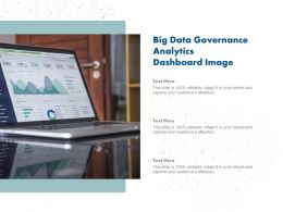Big Data Governance Analytics Dashboard Image