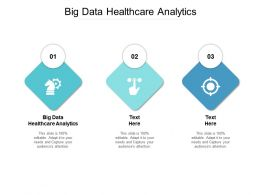Big Data Healthcare Analytics Ppt Powerpoint Presentation Slides Model Cpb