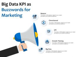 Big Data KPI As Buzzwords For Marketing