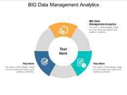 Big Data Management Analytics Ppt Powerpoint Presentation Gallery Files Cpb