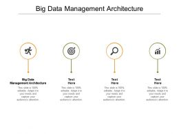 Big Data Management Architecture Ppt Powerpoint Presentation Outline Slides Cpb