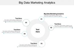 Big Data Marketing Analytics Ppt Powerpoint Presentation Model Slides Cpb