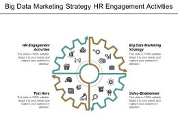 Big Data Marketing Strategy Hr Engagement Activities Sales-Enablement Cpb