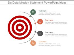 Big Data Mission Statement Powerpoint Ideas