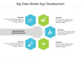 Big Data Mobile App Development Ppt Powerpoint Presentation Layouts Cpb