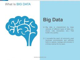 Big Data Processing Example Of Ppt