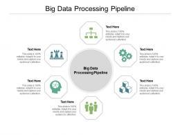Big Data Processing Pipeline Ppt Powerpoint Presentation Portfolio Microsoft Cpb