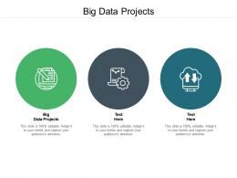 Big Data Projects Ppt Powerpoint Presentation Influencers Cpb
