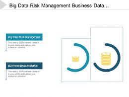 Big Data Risk Management Business Data Analytics Pricing Management Cpb